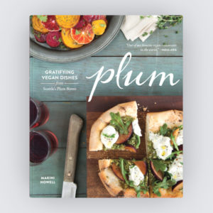 Plum Bistro Vegan Cookbook Cover Image